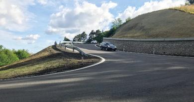 Silnice na Klepačov v provozu