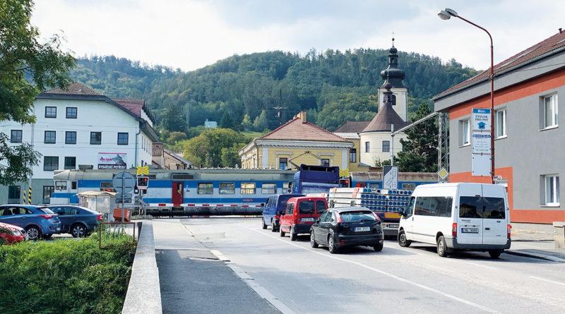 V Blansku se chystá přemostění železnice